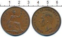 Изображение Монеты Великобритания 1 пенни 1938 Бронза XF