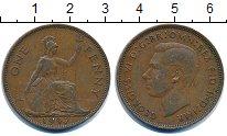Изображение Монеты Великобритания 1 пенни 1947 Бронза XF