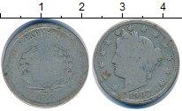 Изображение Монеты США 5 центов 1907 Медно-никель VF