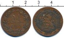 Изображение Монеты Нидерланды 2 1/2 цента 1877 Бронза VF