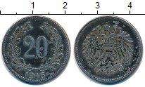 Изображение Монеты Австрия 20 геллеров 1916 Железо VF