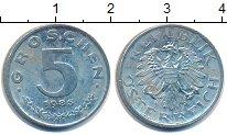 Изображение Монеты Австрия 5 грош 1985 Цинк UNC-