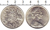 Изображение Монеты Австралия 50 центов 1966 Медно-никель XF