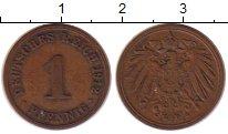 Изображение Монеты Германия 1 пфенниг 1912 Медь XF А