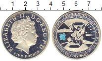 Изображение Монеты Великобритания 5 фунтов 2009 Серебро UNC