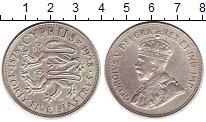 Изображение Монеты Кипр 45 пиастров 1928 Серебро XF Георг V.