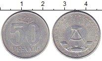 Изображение Монеты ГДР 50 пфеннигов 1968 Алюминий XF