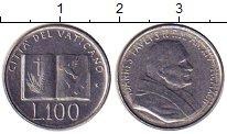 Изображение Монеты Ватикан 100 лир 1992 Железо XF