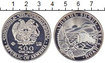 Изображение Монеты Армения 500 драм 2014 Серебро UNC- Ноев ковчег