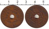 Изображение Монеты Родезия 1 пенни 1951 Медь XF Георг VI.