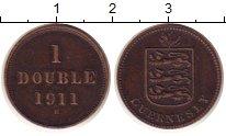 Изображение Монеты Гернси 1 дубль 1911 Медь XF