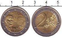Изображение Монеты Франция 2 евро 2010 Биметалл XF 70 - летие  речи  Ге