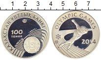 Изображение Монеты Казахстан 100 тенге 2011 Серебро Proof