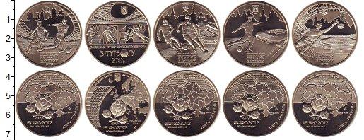 Изображение Наборы монет Україна 5 гривен 2012 Медно-никель Proof