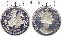 Изображение Монеты Гибралтар 35 экю 1992 Серебро Proof