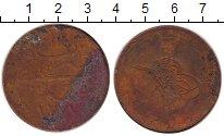 Изображение Монеты Египет 40 пар 1869 Медь VF