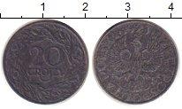 Изображение Монеты Польша 20 грош 1941 Цинк VF