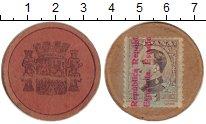 Изображение Монеты Испания 5 сентим 1937 Картон VF Революция. Токен.