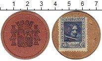 Изображение Монеты Испания 50 сентим 1937 Картон VF