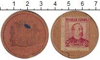 Изображение Монеты Испания 25 сентим 1937 Картон