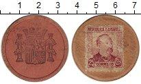 Изображение Монеты Испания 25 сентим 1937 Картон VF
