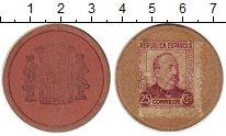Изображение Монеты Испания 25 сентим 1937 Картон XF