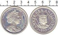 Изображение Монеты Виргинские острова 10 долларов 2008 Серебро Proof-