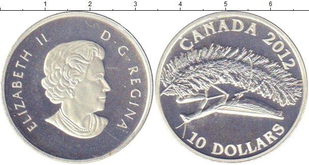 Картинка Монеты Канада 10 долларов Серебро 2012