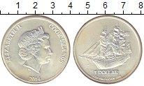 Изображение Монеты Острова Кука 1 доллар 2014 Серебро UNC-