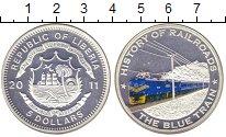Изображение Монеты Либерия 5 долларов 2011 Серебро Proof-
