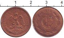 Изображение Монеты Мексика 1 сентаво 1910 Бронза XF