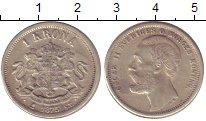 Изображение Монеты Швеция 1 крона 1875 Серебро XF