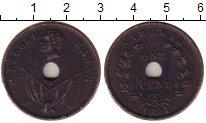 Изображение Монеты Саравак 1 цент 1894 Медь XF Раджа К. Брук.