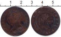 Изображение Монеты Гонконг 1 цент 1877 Бронза XF