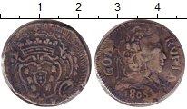 Изображение Монеты Португальская Индия 1 рупия 1805 Серебро XF-