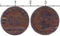 Изображение Монеты Италия 1 сентесим 1813 Медь XF-