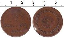 Изображение Монеты Швеция 1/2 скиллинга 1799 Медь XF