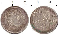 Изображение Монеты Польша 3 гроша 1597 Серебро VF