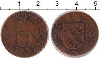 Изображение Монеты Льеж 1 лиард 0 Медь VF максимиллиан Анри (ч