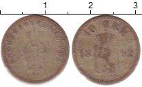 Изображение Монеты Норвегия 10 эре 1892 Серебро VF