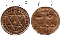 Изображение Монеты Марокко 2 фалуса 1869 Медь VF