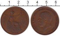 Изображение Монеты Великобритания 1 пенни 1928 Медь XF