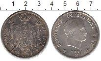 Изображение Монеты Италия 5 лир 1809 Серебро XF