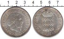 Изображение Монеты Монако 10 франков 1966 Серебро XF 110 - летие  Чарльза