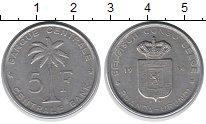 Изображение Монеты Бельгийское Конго 5 франков 1956 Алюминий XF