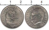 Изображение Монеты Гаити 10 гурдов 1975 Медно-никель UNC