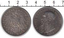 Изображение Монеты Саксен-Майнинген 3 марки 1908 Серебро XF
