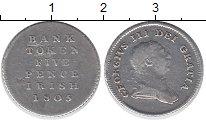 Изображение Монеты Великобритания 5 пенсов 1805 Серебро VF