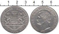 Изображение Монеты Саксония 1 талер 1860 Серебро XF