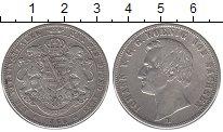 Изображение Монеты Саксония 1 талер 1866 Серебро XF-